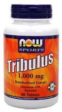 Трибулус Террестрис(Трибестан) 1000мг 90 табл. Препарат для повышения уровня тестостерона и усиления мужской потенции
