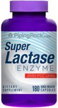 Суперэффективный фермент для переваривания лактазы в молочных продуктах, 180 капсул
